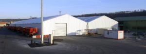 bâtiments éphémères industriels