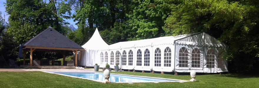 Location de tentes pour vos petits et grands évènements