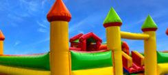 Installer un château gonflable pour l'anniversaire de vos enfants